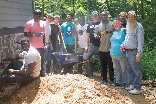 App Student-Athletes Shatter Community Service Hours Record