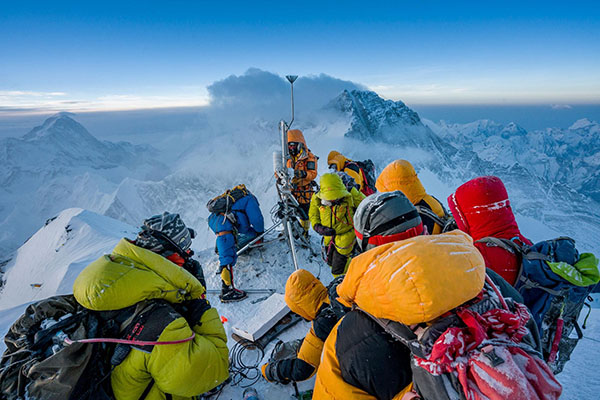Inside the Everest expedition that built the world's highest weather station