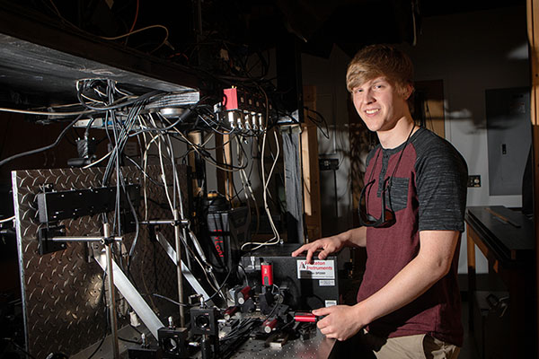 App State student sets his research sights out of this world through NC Space Grant