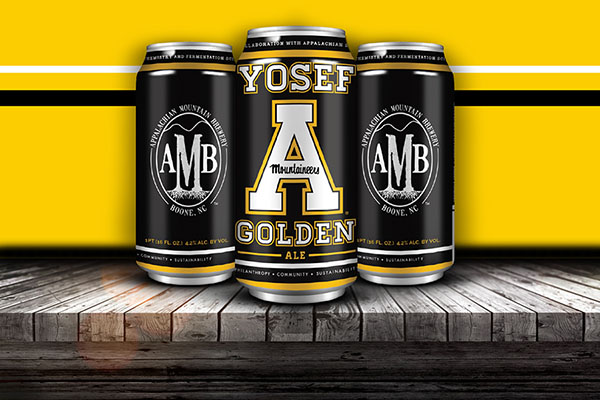 App State, Appalachian Mountain Brewery launch Yosef Golden Ale