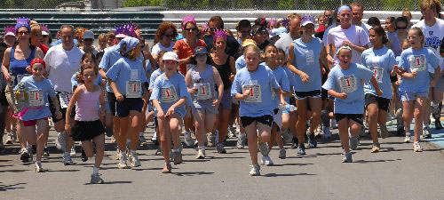 Girls on the Run of the High Country 5K