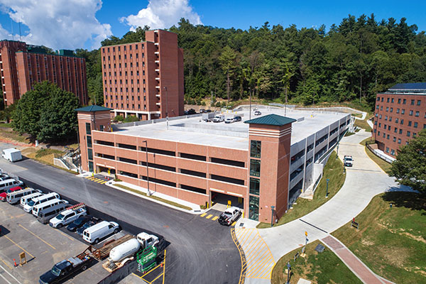 App State's newest parking facility officially open