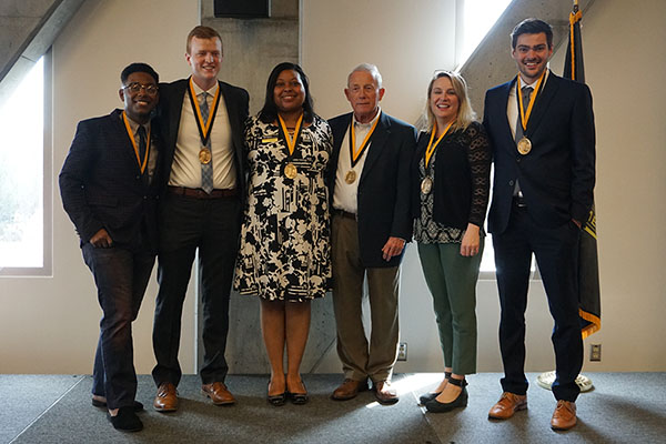 6 members of App State Community receive Plemmons Leadership Medallions