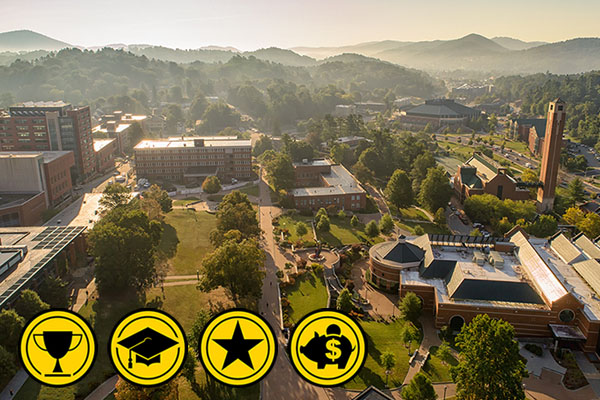 App State ranked a 'Best' by 5 national publications