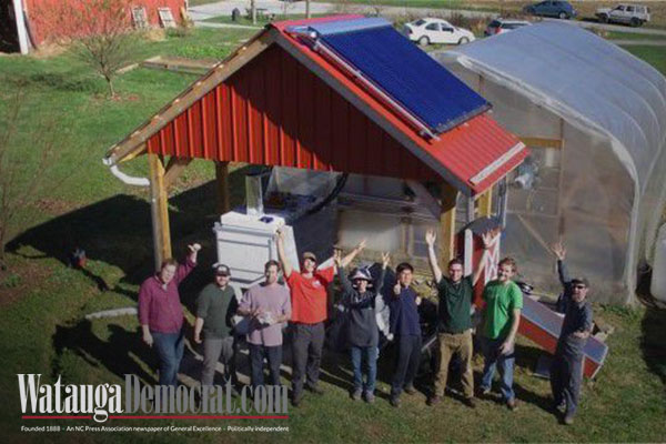 App State group researches alternative energy uses for local farmers