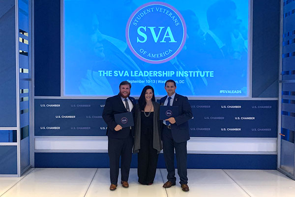 App State student veteran among 124 selected nationally for SVA Leadership Institute