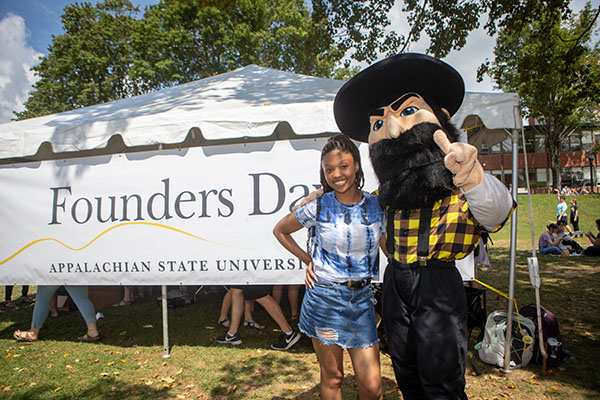 App State celebrates its second annual Founders Day