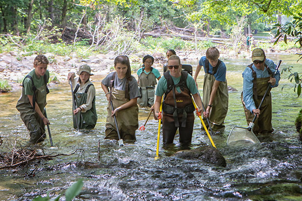 High water, higher expectations — a STEM learning experience for all ages at App State