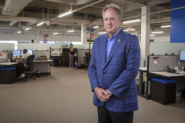 Entrepreneur Ronald 'Steve' Norwood '80 wins 2019 Outstanding Service Award