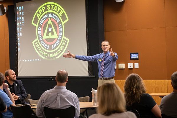 'Prepared, Not Scared' — emergency planning a priority at App State