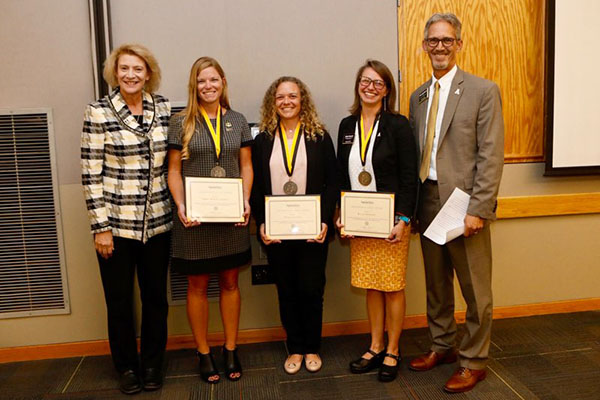 App State recognizes 4 staff members for excellence