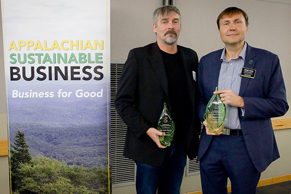 2019 Green E Awards honor 'sustainable business champions' at App State