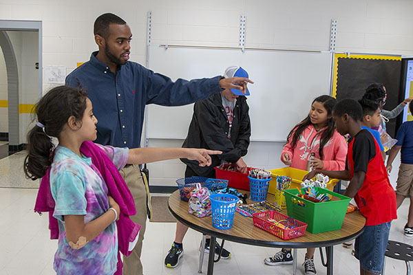 Positive incentives guide students at App State Academy at Middle Fork