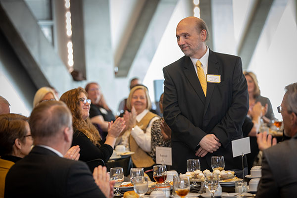 App State honors more than 120 staff members for decades of service
