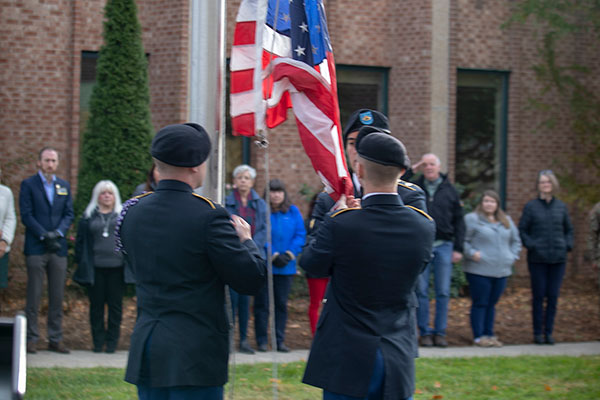 App State honors military service at Veterans Day Ceremony