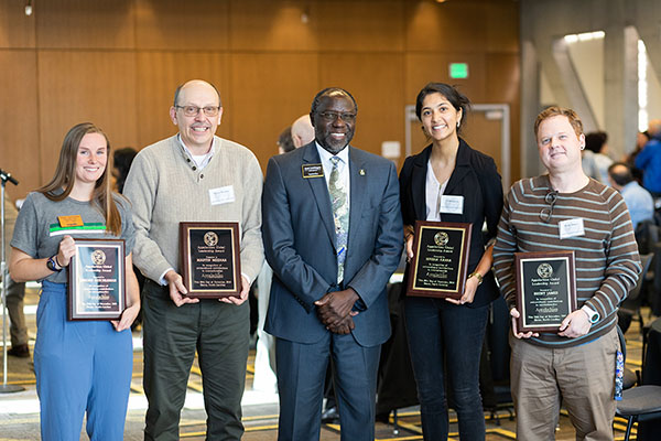 App State awards Appalachian Community members and alumna for global leadership and engagement