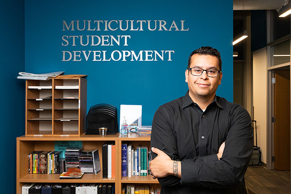App State's Marco Fonseca Rodriguez pulls from personal experience for his role in Multicultural Student Development