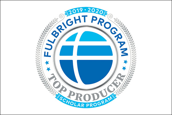 App State ranked the nation's top producer of Fulbright U.S. Scholars in 2019–20