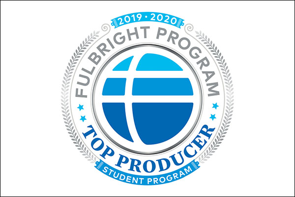 App State named a top producer of Fulbright students in 2019–20