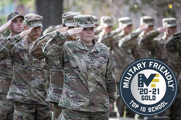 App State earns Top 10 Military Friendly® School designation for 2020–21