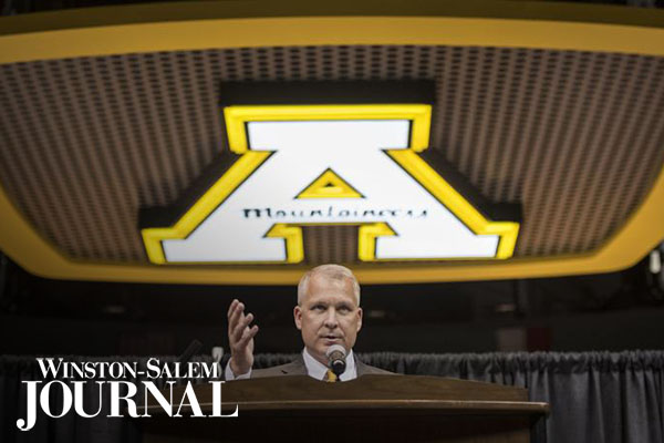 App State AD on the coronavirus, student-athlete health and the Sun Belt's ongoing decisions [staff featured]