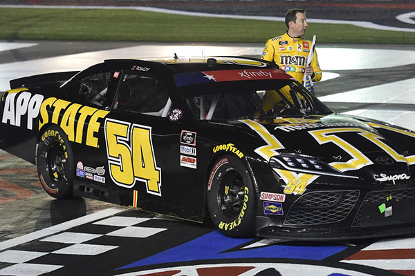 Busch Drives App State-Branded Car To NASCAR Win