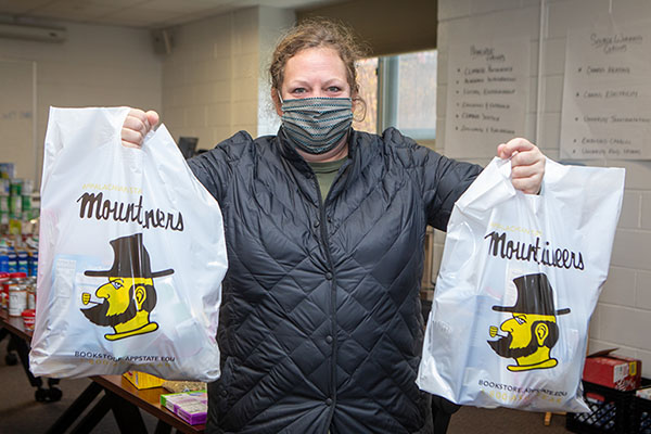 App State's Food Resource Hub provides food and personal care items to Mountaineers in need, continues to operate despite global pandemic
