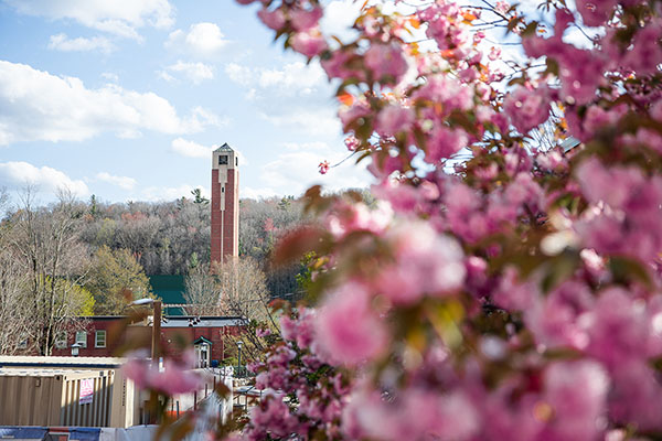 Spring views at App State