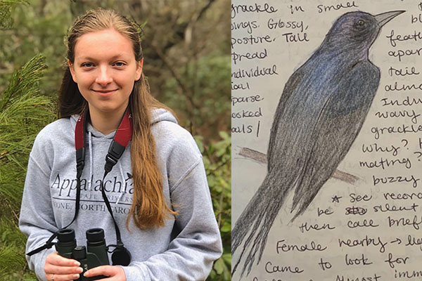 App State budding ornithologist recognized as Young Birder of 2020