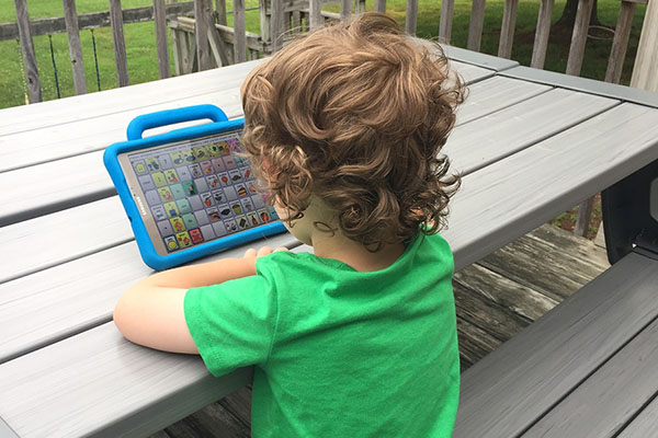 3-year-old finds his voice through App State's Communication Disorders Clinic