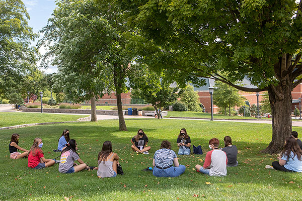 At the Trailhead: App State's first-year students participate in reimagined orientation and leadership development program