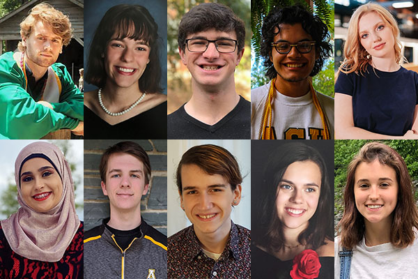 App State announces 2020–21 class of Chancellor's Scholars