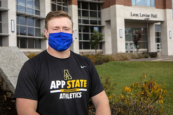 Precision on and off the field — App State undergraduate research a springboard for aspiring surgeon