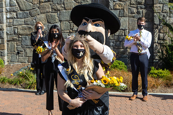 App State puts a new spin on homecoming traditions