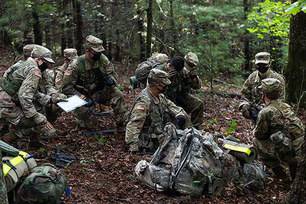 'The mission doesn't stop': App State holds Operation Agile Leader training exercises locally for senior ROTC cadets