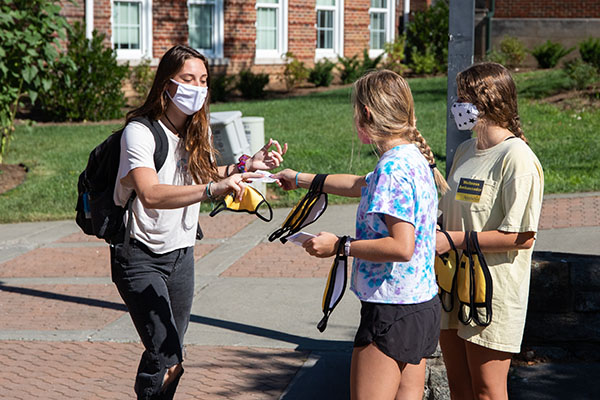 App State students use peer-to-peer efforts to help slow the spread of COVID-19