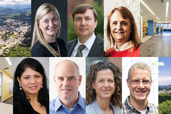 Seven earn professorships in Walker College of Business