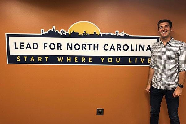 App State alumnus's fellowship program puts college grads to work in NC communities