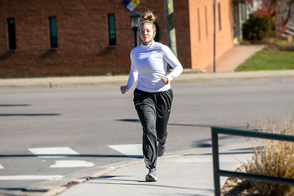 Tips for staying physically active this winter — advice from App State's Dr. Rebecca Battista
