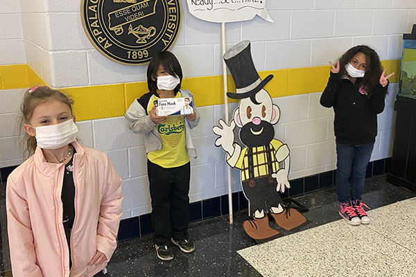 App State alumni donate 2,000-plus face coverings to Academy at Middle Fork