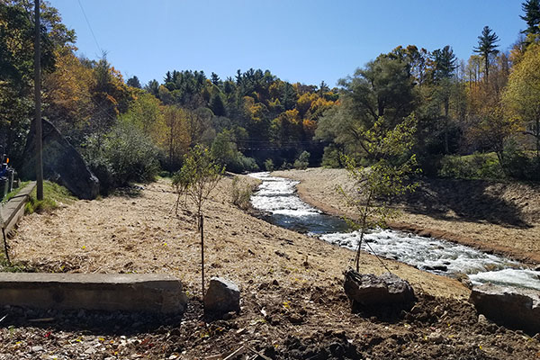 How New River got its flow back: App State's NRLP completes Payne Branch environmental restoration project