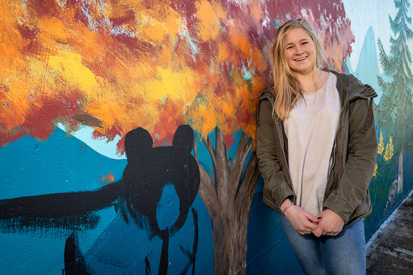 Giving back to the community: One App State student's idea to brighten older adults' lives through art