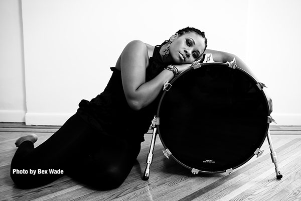 Renowned drummer Shirazette Tinnin '02 shares the rhythm of her life