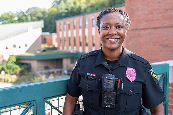 Appalachian Police Department's new diversity, inclusion and community engagement officer promotes positive interactions