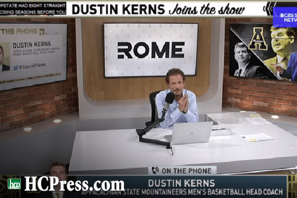 Appalachian State Head Coach Dustin Kerns Featured in Interview on the Jim Rome Show [staff featured]