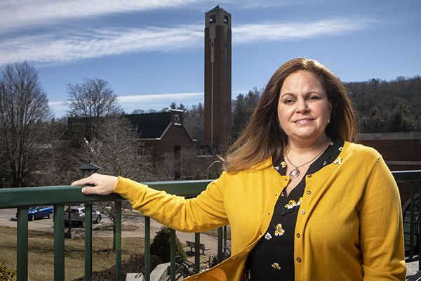 A 'diploma in persistence' for this App State staff member and student