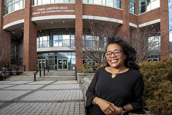 Lynn Patterson's door at App State's Belk Library is open