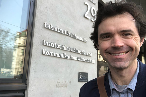 App State Fulbright awardee Dr. Gregory Perreault engages in cross-national study on digital journalism