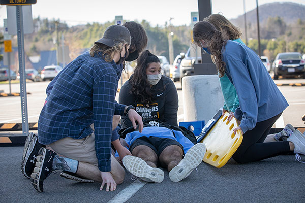First on scene: Clinical simulations prepare App State athletic training students