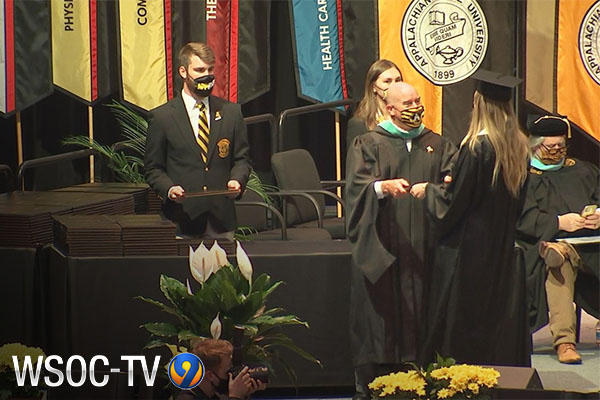'It's a blessing': 3,600 App State grads to receive diplomas at in-person ceremonies
